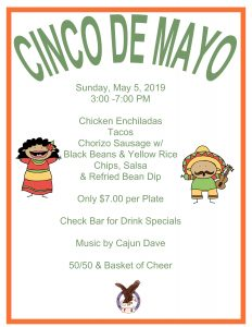 CINCO de MAYO @ Weeli Wachee Eagles